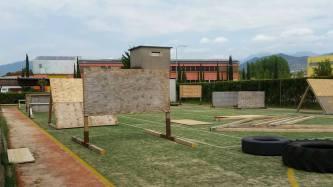 Il nostro campo con ostacoli per la preparazione alle Spartan e le OCR.